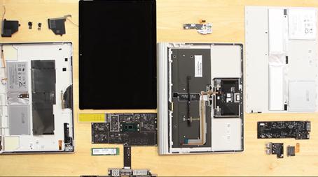 Surfacebook2分解