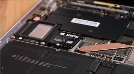 Surface Laptop 3のSSDモジュール
