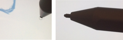 Surfaceペン先「B」の形状