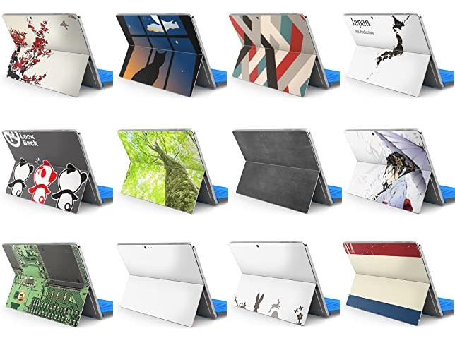 igsticker Surface Pro用スキンシール抜粋