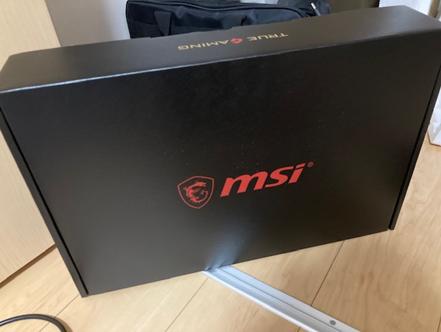 MSI GF7510UEK025JPパッケージ