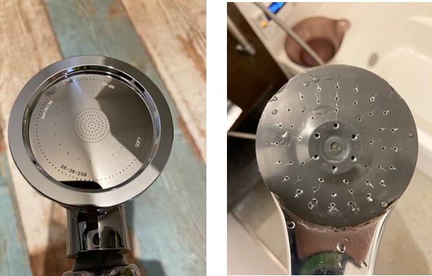 シルキーナノバブルシャワー散水板の画像