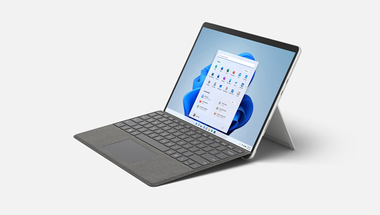 Micorosoft Surface Pro8外観